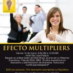 Seminario Multipliers: Efecto Multiplicador