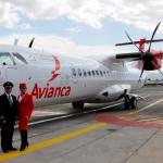 Nuevo avión ATR72-600 de AVIANCA volará desde Costa Rica