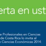 Congreso de Ciencias Económicas ofrecerá charlas bajo 4 ejes temáticos
