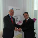 Admiten a Costa Rica comocandidata al ingreso a OCDE