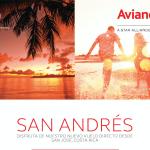Avianca lanza tarifa promocional para estrenar la ruta entre Costa Rica y San Andrés