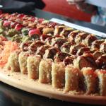 Este es el sushi que sobresale del montón