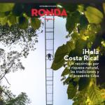Iberia dedica a Costa Rica la portada de su revista a bordo