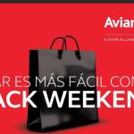 Viernes negro de Avianca ofrece tarifas desde US$229 hacia destinos en Centroamérica y México.