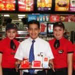 McDonald's realizará feria de empleo y reclutará jóvenes sin experiencia