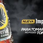 Cervecería lanza su nueva Imperial con 0% grados de alcohol