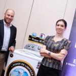 Whirlpool presentó sus novedades en tecnología de lavadoras