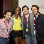 Importantes Youtubers de Latinoamérica brindaron conferencia en el país