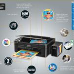 Promoción EKA Multifuncional Epson L380 Copia Imprime Escanea