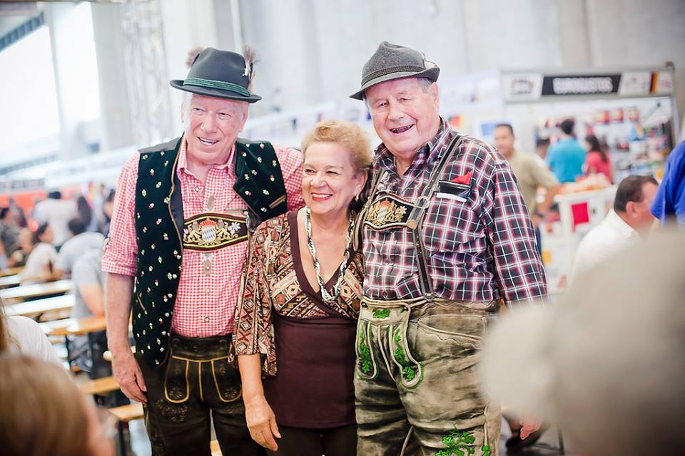 Empresarios participaron del lanzamiento  de la Expo Feria Alemana 2018