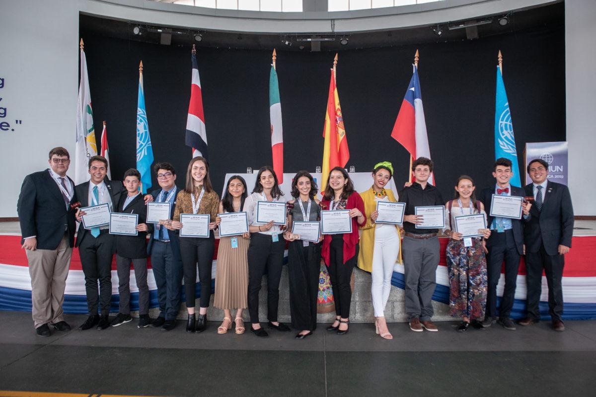 St. Jude School fue sede de réplica de conferencias de la ONU en evento internacional