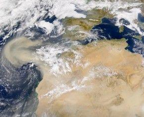 Tenga cuidado con la llegada de polvos del Sahara