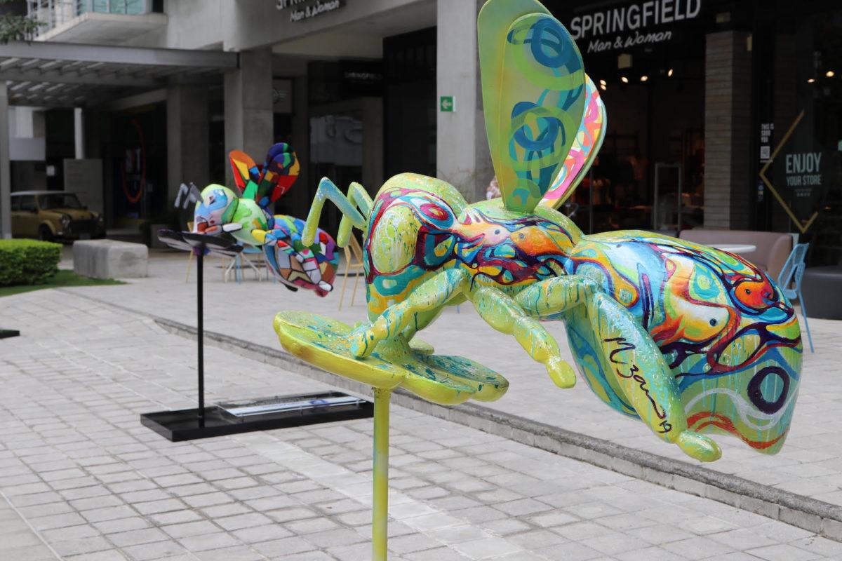 Exposición de abejas gigantes recorren el país con mensaje de sostenibilidad