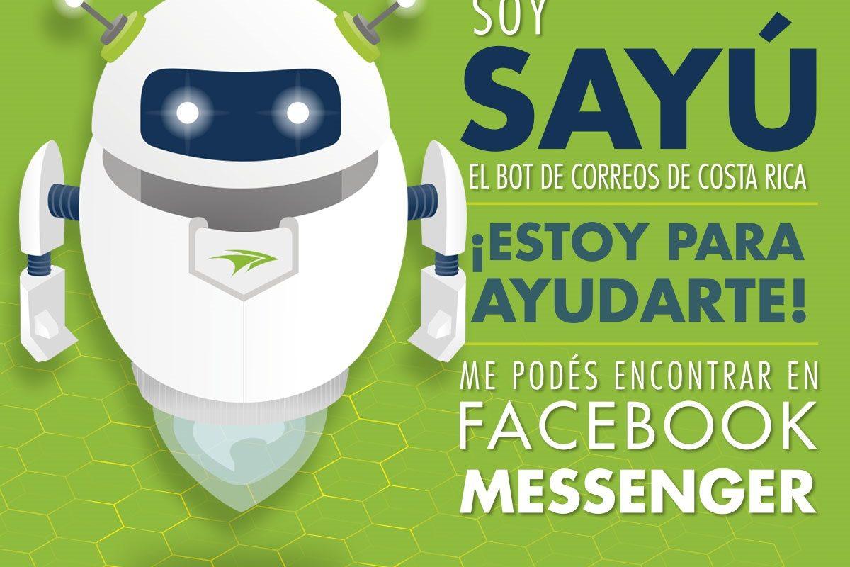Robot con inteligencia artificial atiende a clientes de Correos de Costa Rica