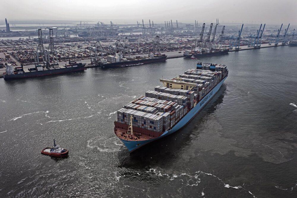 buque de transatlántico neutro en carbono