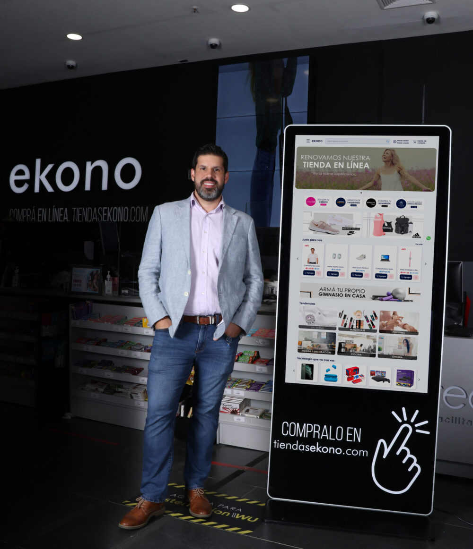 Jovel Quesada, gerente de Ecommerce de Tiendas Ekono