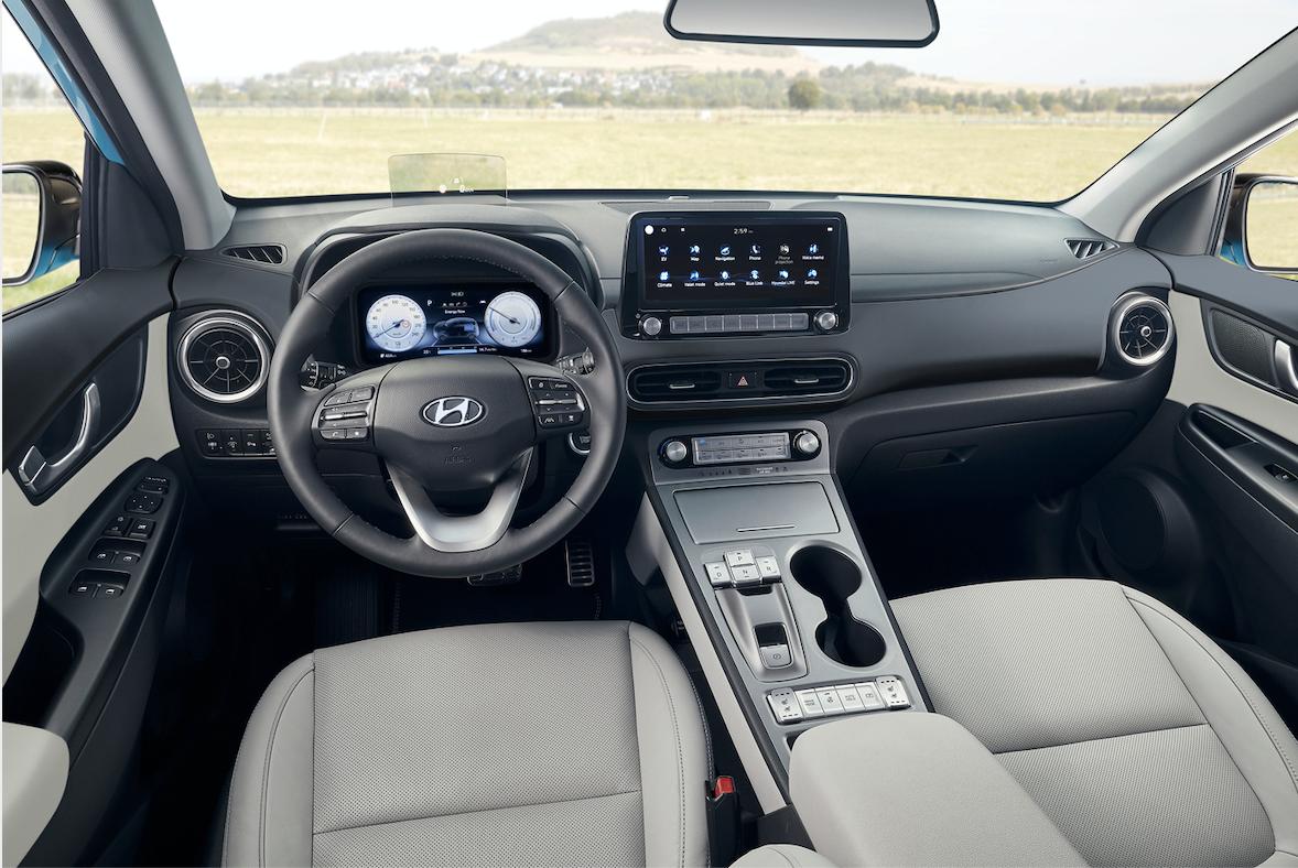 Kona auto electrico de Hyundai