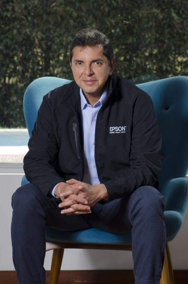 Diego Rosero, country Manager de Epson para NOLA